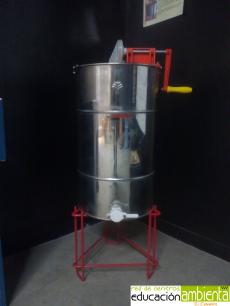 Extractor manual de miel